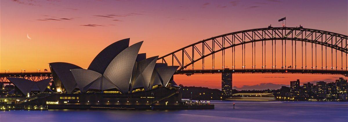 - New York to Sydney