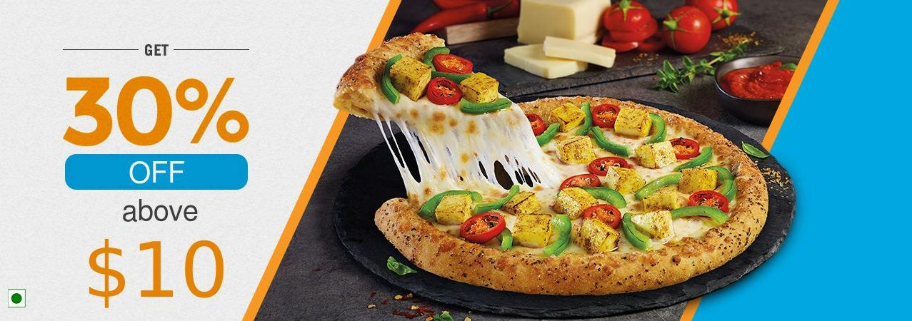 Yo!Pizzas - 30% OFF on $10 and above