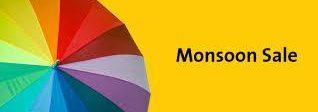 - Monsoon Sale: Buy 1 Get 1 Free